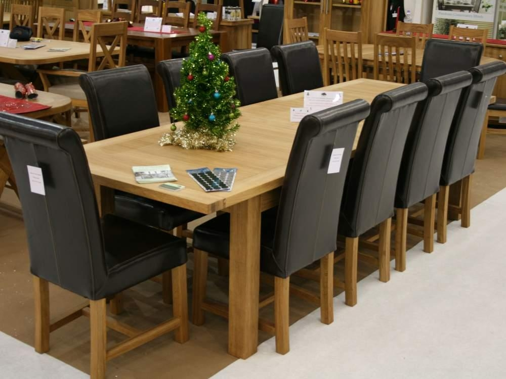 Care And Maintenance Of The 10 Chair Dining Table – Home Decor Within Dining Table And 10 Chairs (View 19 of 20)