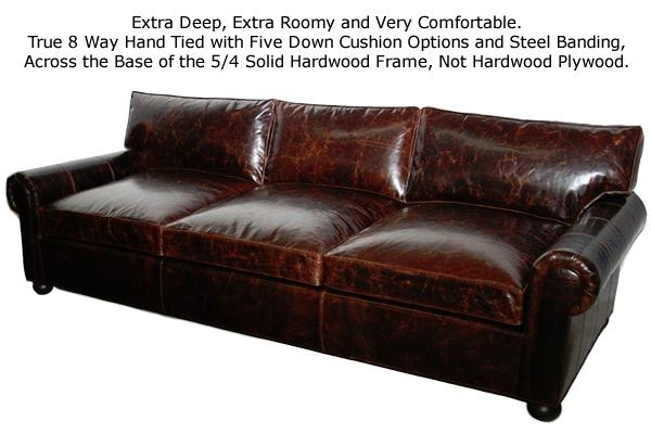 Casco Bay Furniture Review – A Discussion Of The Coveted Brompton Intended For Brompton Leather Sectional Sofas (Image 7 of 20)
