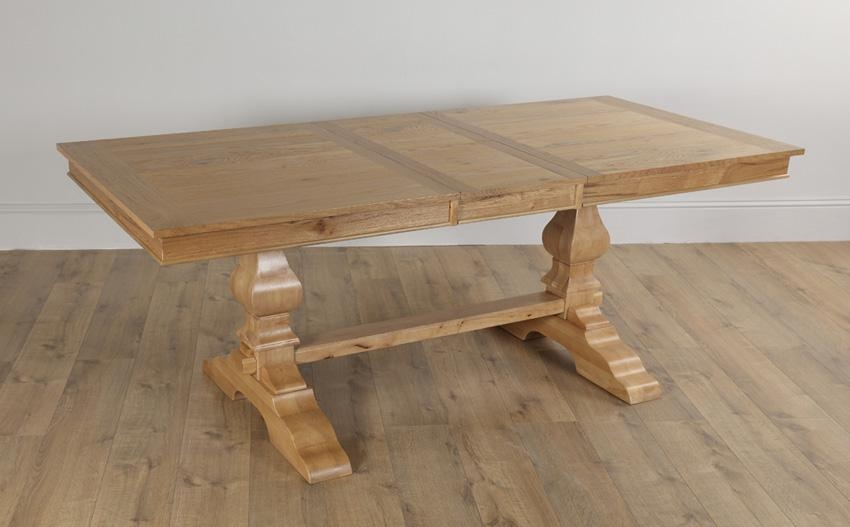 Cavendish Oak Extending Dining Table 160 – 200Cm Only £ (Image 2 of 20)