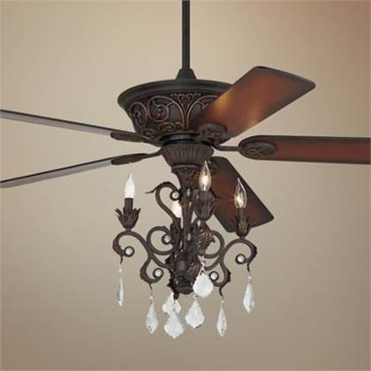 Ceiling Fan Chandelier Light 20 Tips On Selecting The Best Throughout Chandelier Light Fixture For Ceiling Fan (Image 16 of 25)