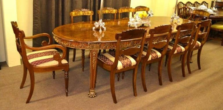 Featured Image of Dining Table And 10 Chairs