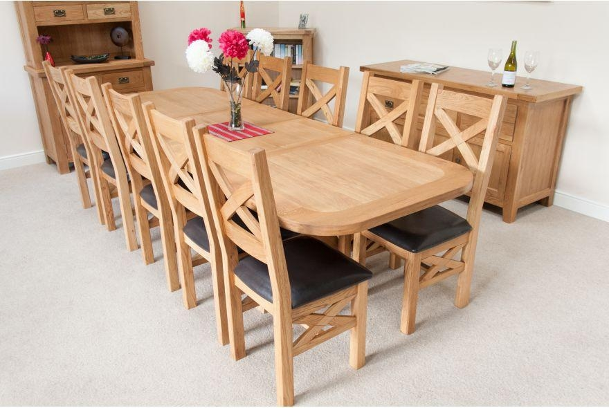 Chair Dining Table And 10 Chairs | Uotsh Intended For Extending Dining Table With 10 Seats (Image 6 of 20)