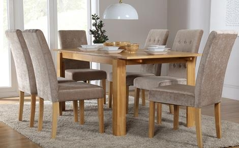 Chair Dining Tables 6 Chairs Table | Uotsh Inside Dining Tables And 6 Chairs (View 1 of 20)