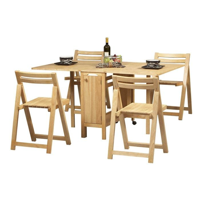 Chair Folding Dining Table Chairs Set | Uotsh Throughout Folding Dining Table And Chairs Sets (View 4 of 20)