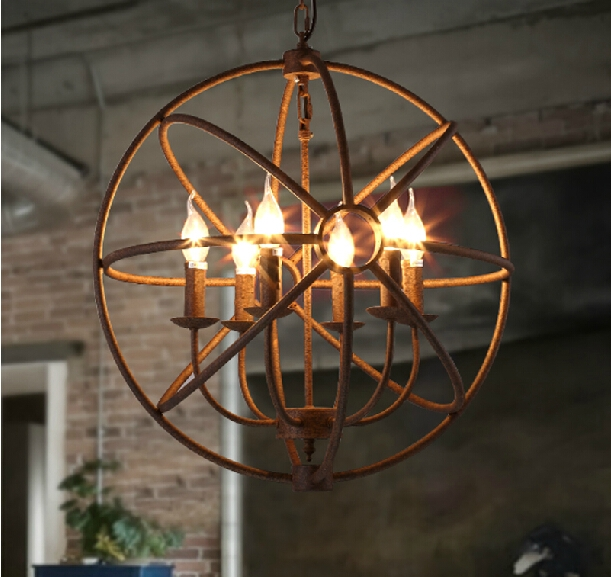 Chandelier Amazing Round Candle Chandelier Chandelier Candle In Metal Ball Chandeliers (Image 8 of 25)