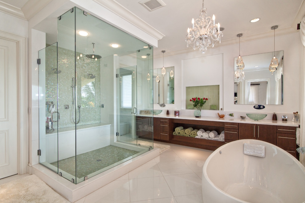 Chandelier Astonishing Bathroom Chandeliers Ideas Bathroom In Crystal Chandelier Bathroom Lighting (Image 15 of 25)