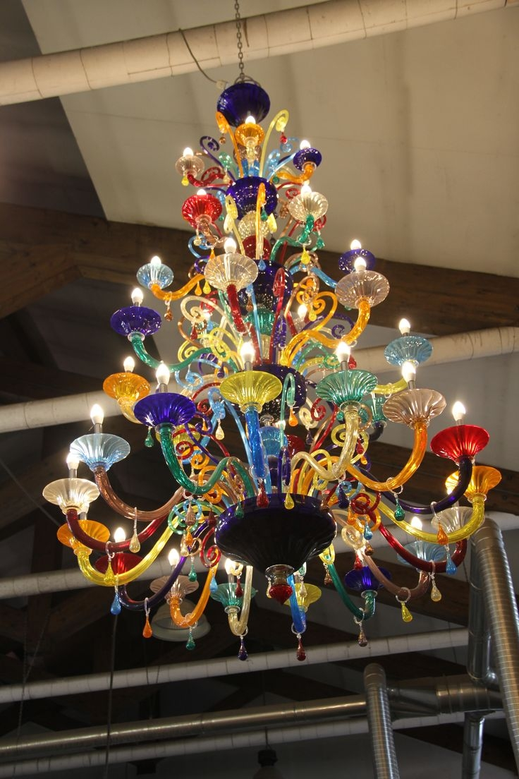Chandelier Astonishing Colored Glass Chandelier Gypsy Chandeliers Pertaining To Gypsy Chandeliers (View 14 of 25)
