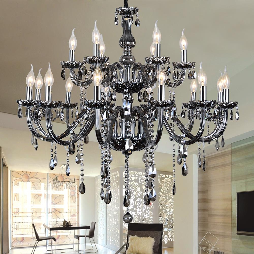 Chandelier Astonishing French Style Chandeliers Glamorous French With Grey Chandeliers (Image 9 of 25)