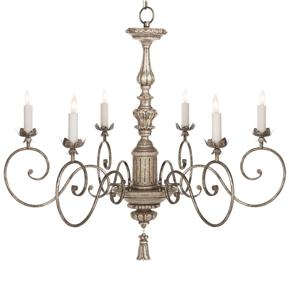 Chandelier Astounding French Country Chandelier Outstanding Intended For Grey Chandeliers (Image 10 of 25)