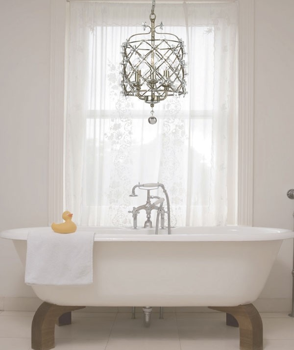 Chandelier Astounding Small Chandeliers For Bathrooms Mini Regarding Crystal Chandelier Bathroom Lighting (Image 18 of 25)