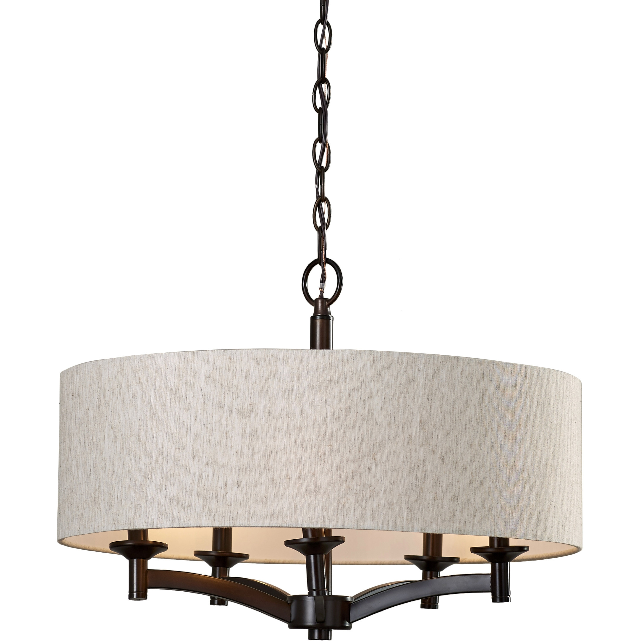 Chandelier Awesome Rectangular Drum Chandelier Terrific Intended For Linen Chandeliers (Image 5 of 25)