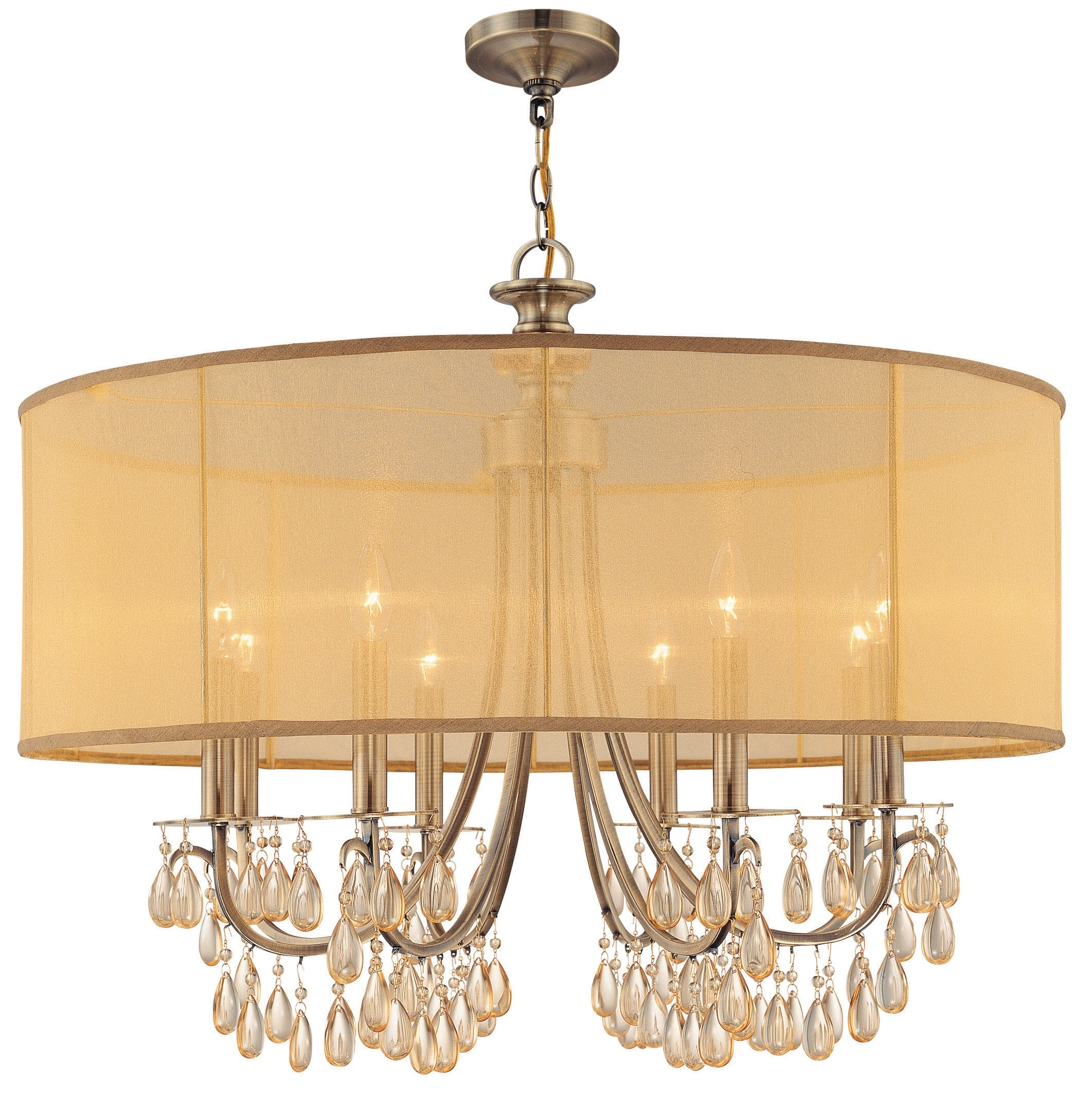 25 Best Clip on Drum Chandelier Shades