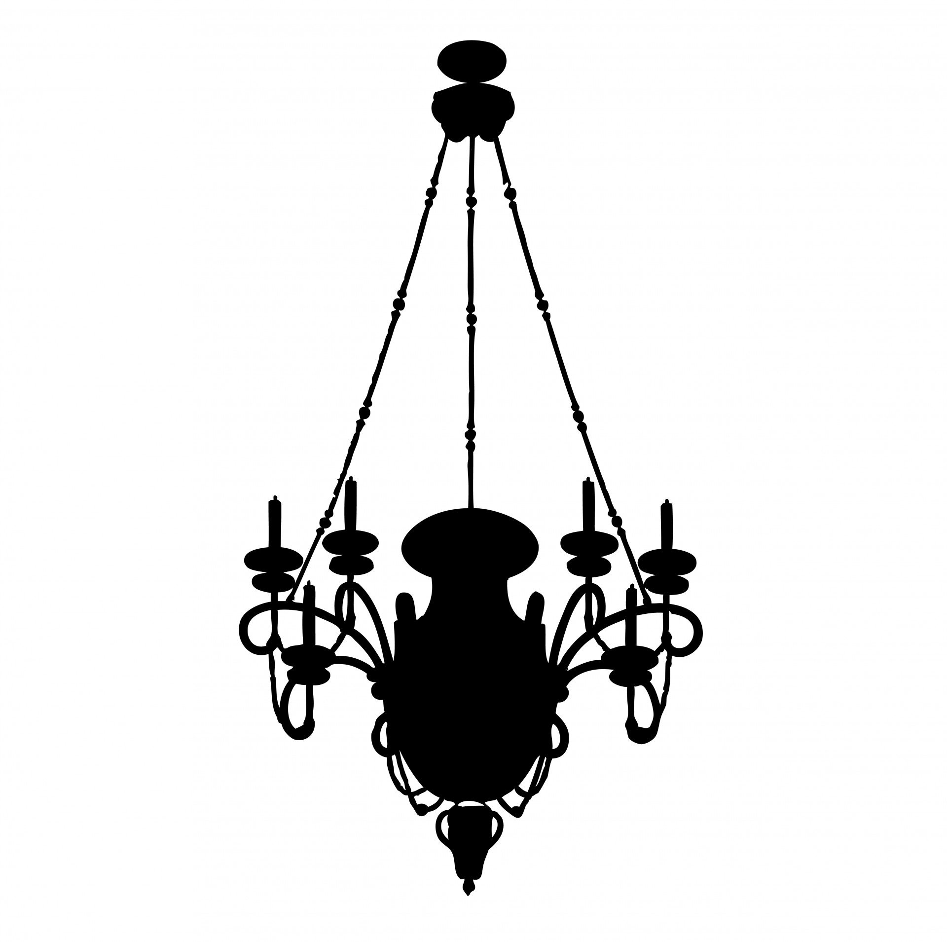 Chandelier Clip Art Clipartandscrap Pertaining To Clip On Chandeliers (View 7 of 25)