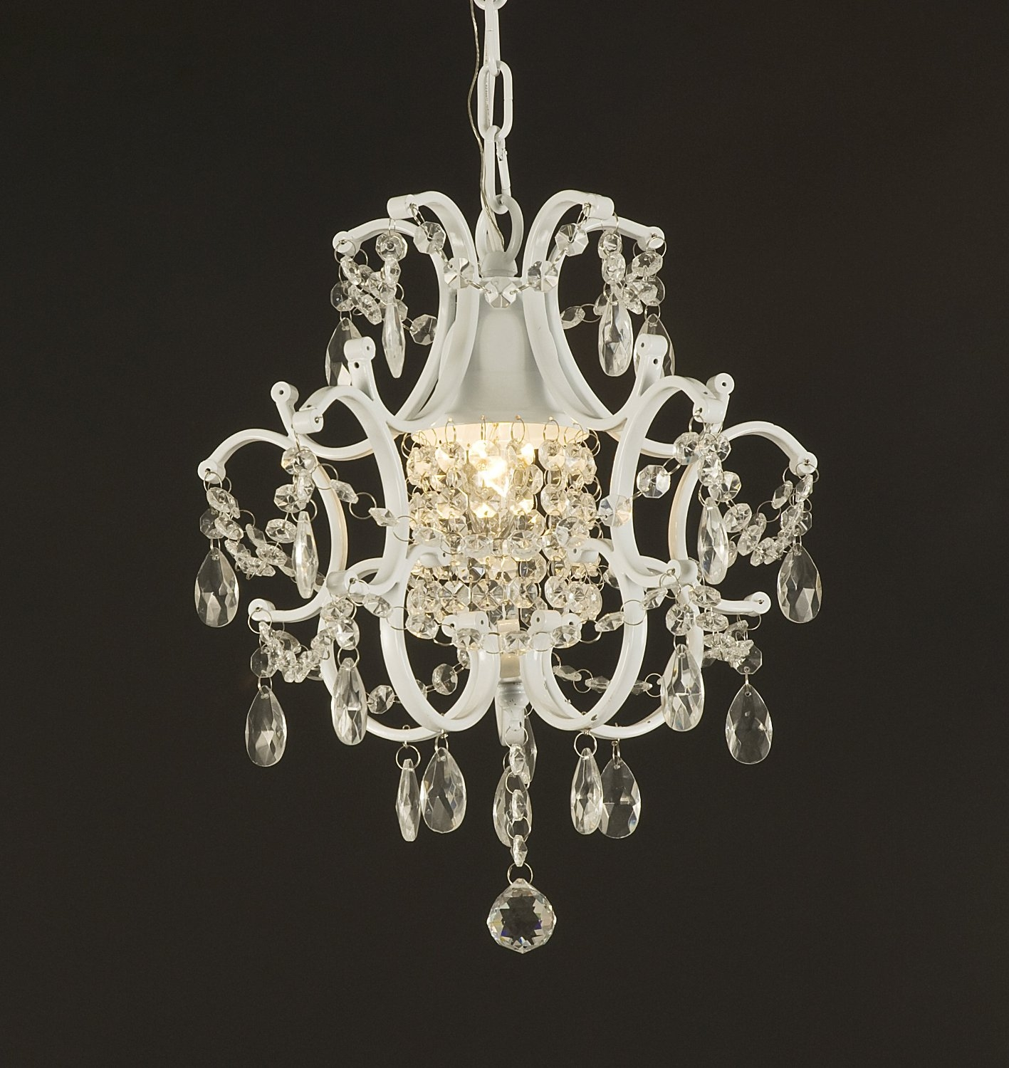 Chandelier Extraordinary Home Depot Crystal Chandelier Chandelier With Small White Chandeliers (Image 11 of 25)