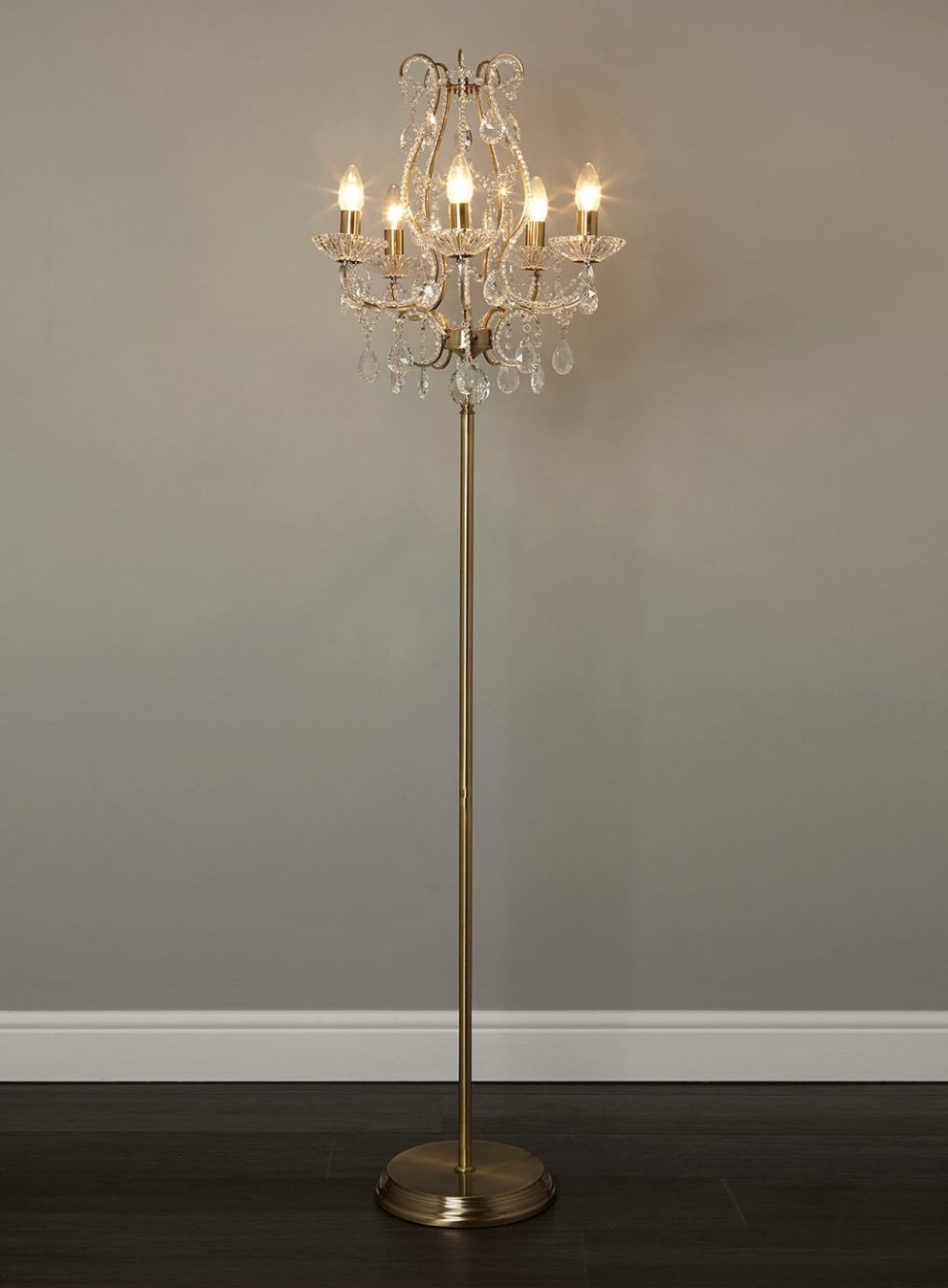 Chandelier Floor Lamps Uk Images Home Furniture Ideas With Regard To Chandelier Standing Lamps (Image 3 of 25)