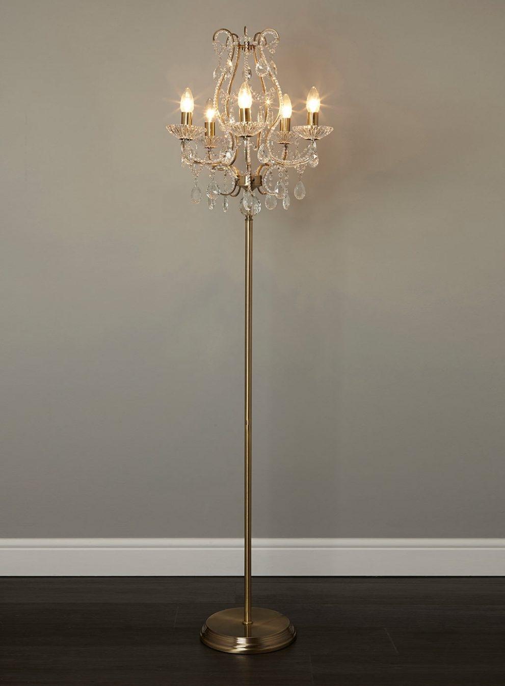 Chandelier Floor Lamps Uk Images Home Furniture Ideas With Regard To Standing Chandelier Floor Lamps (Image 2 of 25)