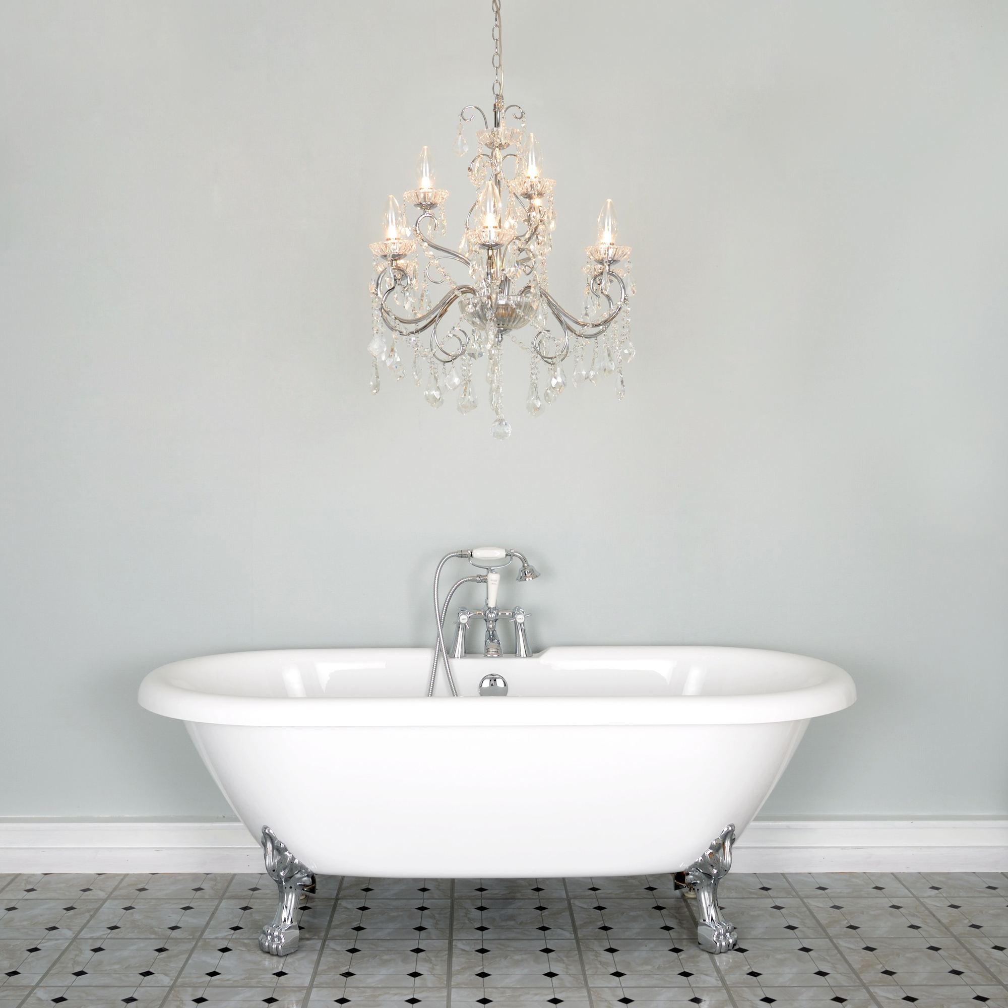 Chandelier For Bathroom Home Design Ideas For Mini Chandelier Bathroom Lighting (View 22 of 25)