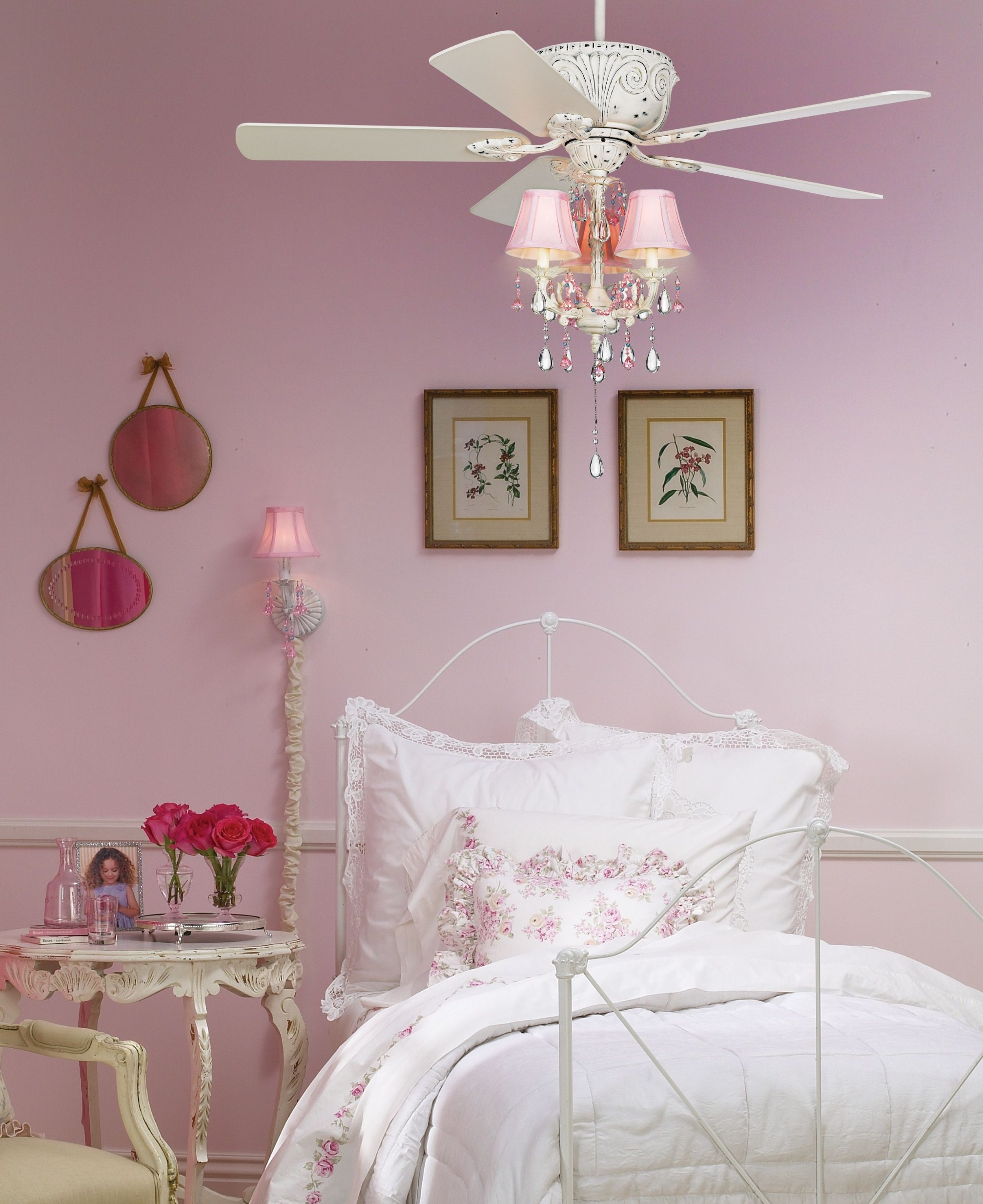 Chandelier For Girls Bedroom 2017 Including Inspiring Room Within Chandeliers For Girl Nursery (View 13 of 25)