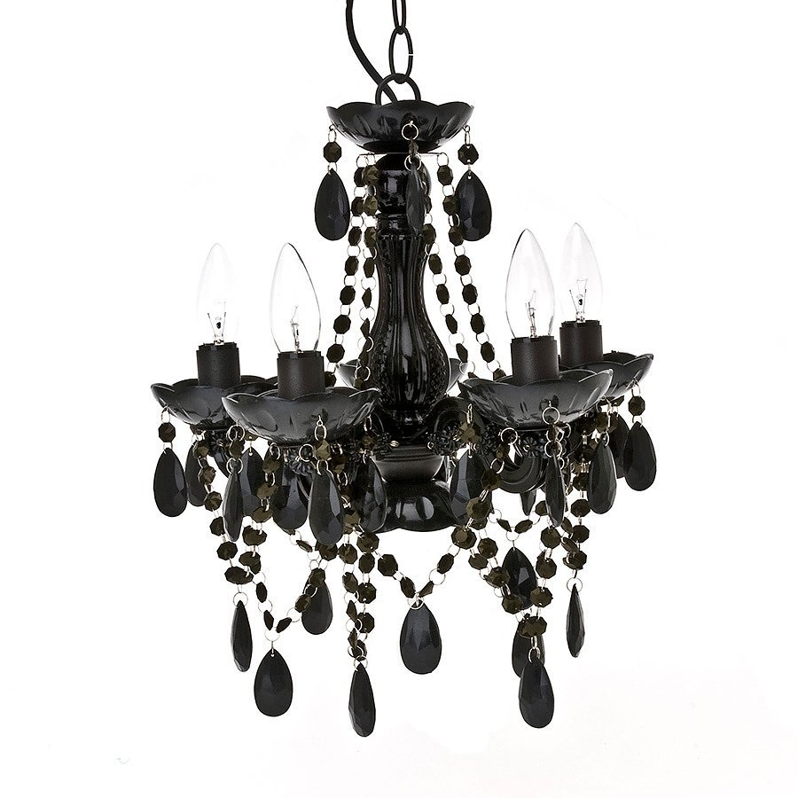 Chandelier Gypsy Black Small Iconicconz Nz Design Art Regarding Small Gypsy Chandeliers (Image 9 of 25)