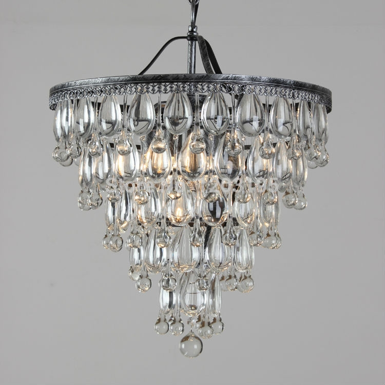 Chandelier Inspiring Rustic Crystal Chandelier Rustic Crystal For Small Rustic Crystal Chandeliers (Image 4 of 25)