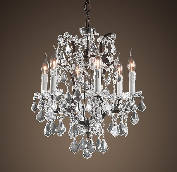 Chandelier Inspiring Rustic Crystal Chandelier Rustic Crystal Inside Small Rustic Crystal Chandeliers (Image 6 of 25)