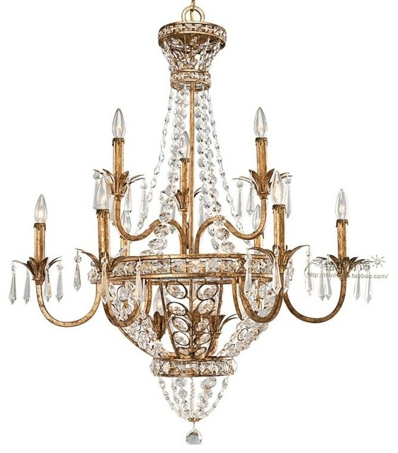Chandelier Inspiring Rustic Crystal Chandelier Rustic Crystal Within Small Rustic Crystal Chandeliers (Image 7 of 25)