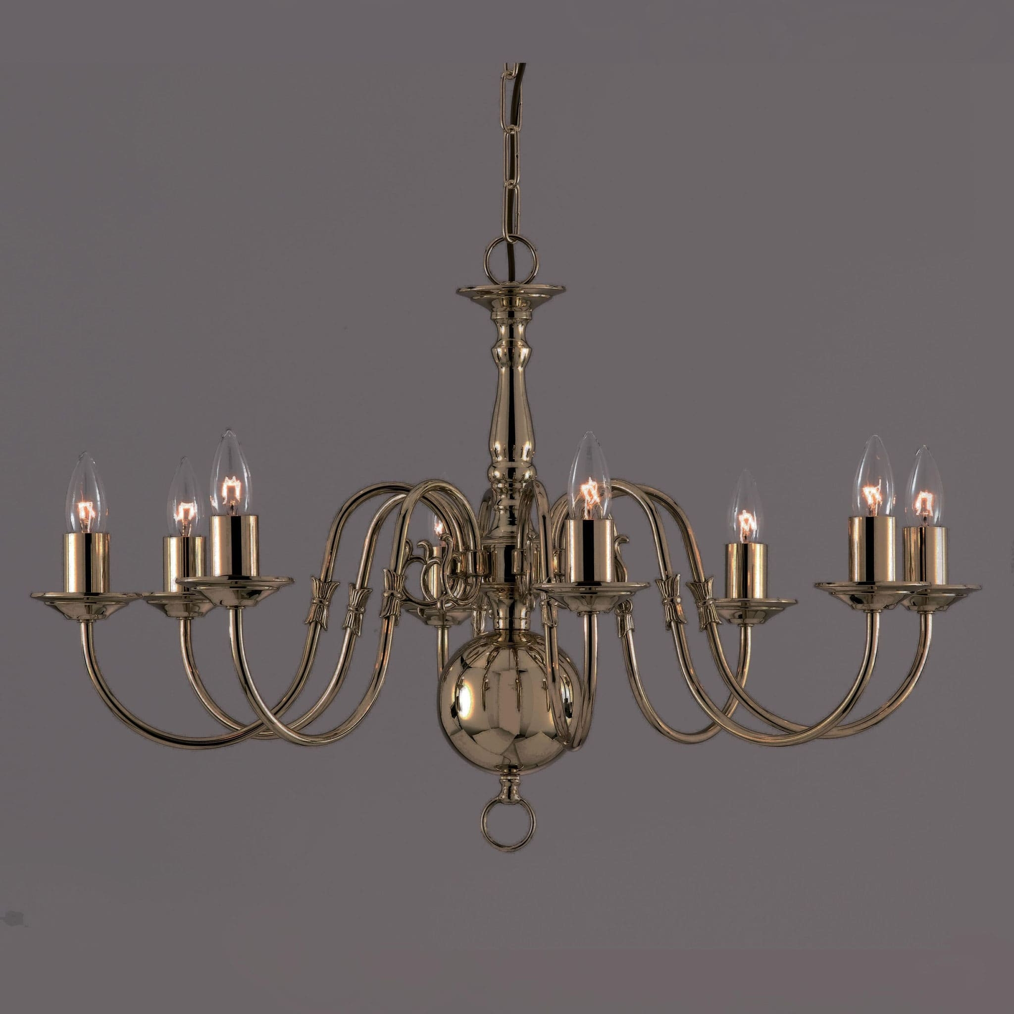 Featured Image of Old Brass Chandeliers