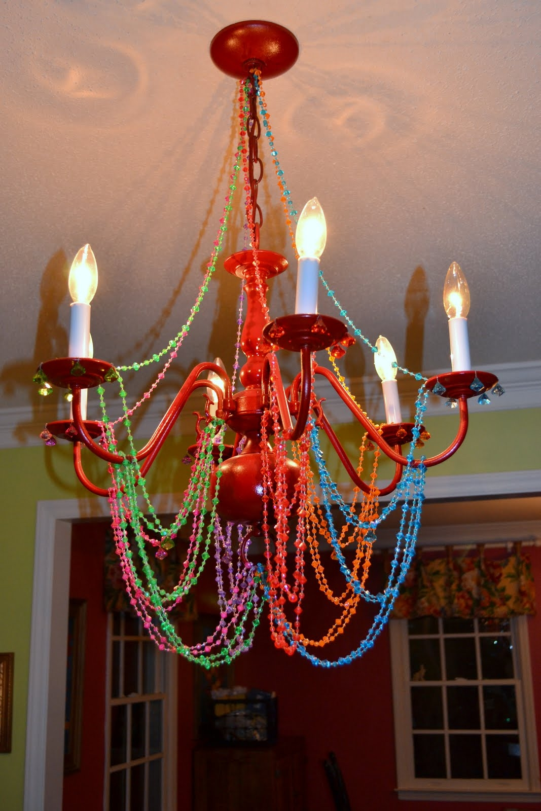 Chandelier Interesting Colorful Chandelier Fascinating Colorful Within Gypsy Chandeliers (View 6 of 25)