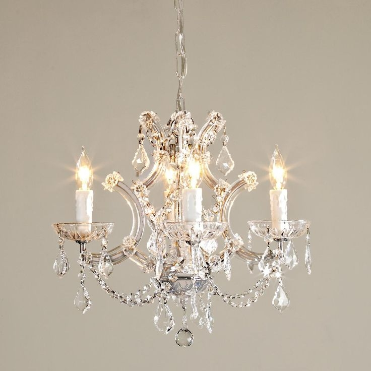 Chandelier Intereting Small Rustic Chandalier Design Ideas Black With Regard To Small Rustic Crystal Chandeliers (Image 8 of 25)