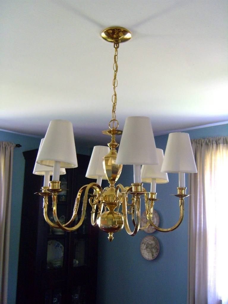 Chandelier Lamp Shades With Crystals Home Design Ideas Great Regarding Chandelier Lampshades (Image 10 of 25)
