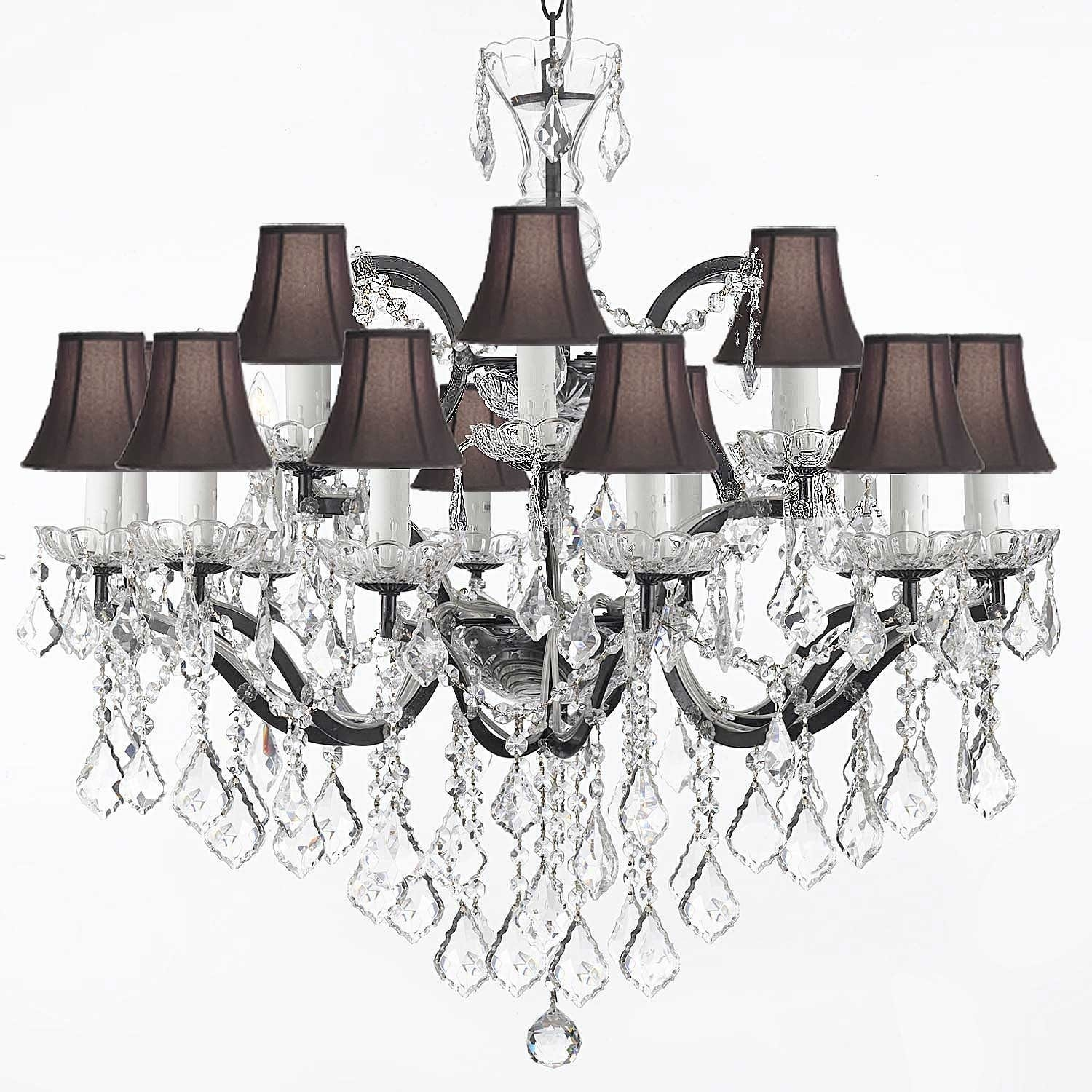 Chandelier Literarywondrous Mini Chandelier Lamp Shades Pictures Inside Chandelier Lamp Shades Clip On (Image 9 of 25)