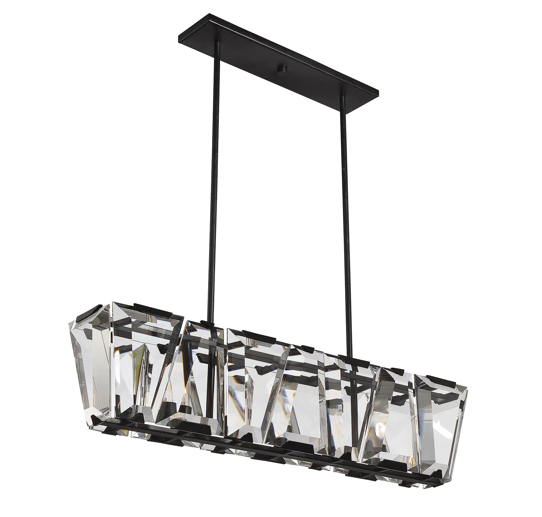 Chandelier Marvellous Linear Chandelier Lighting Linear Crystal Intended For 7 Light Chandeliers (Image 1 of 25)