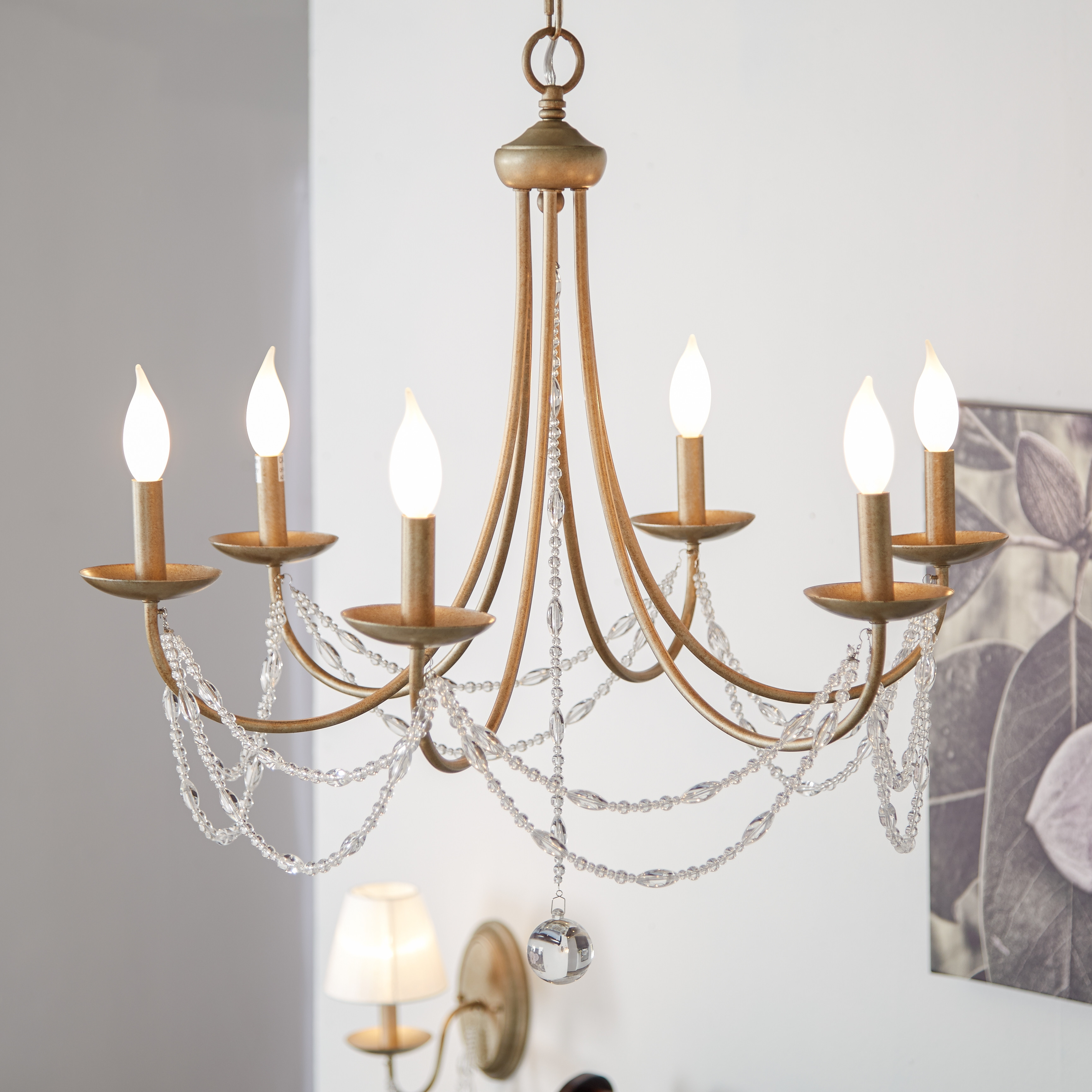 Featured Image of Candle Look Chandeliers