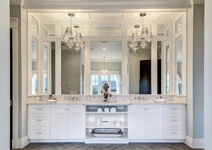 Chandelier Over Sink Design Ideas Inside Wall Mounted Bathroom Chandeliers (Image 9 of 25)