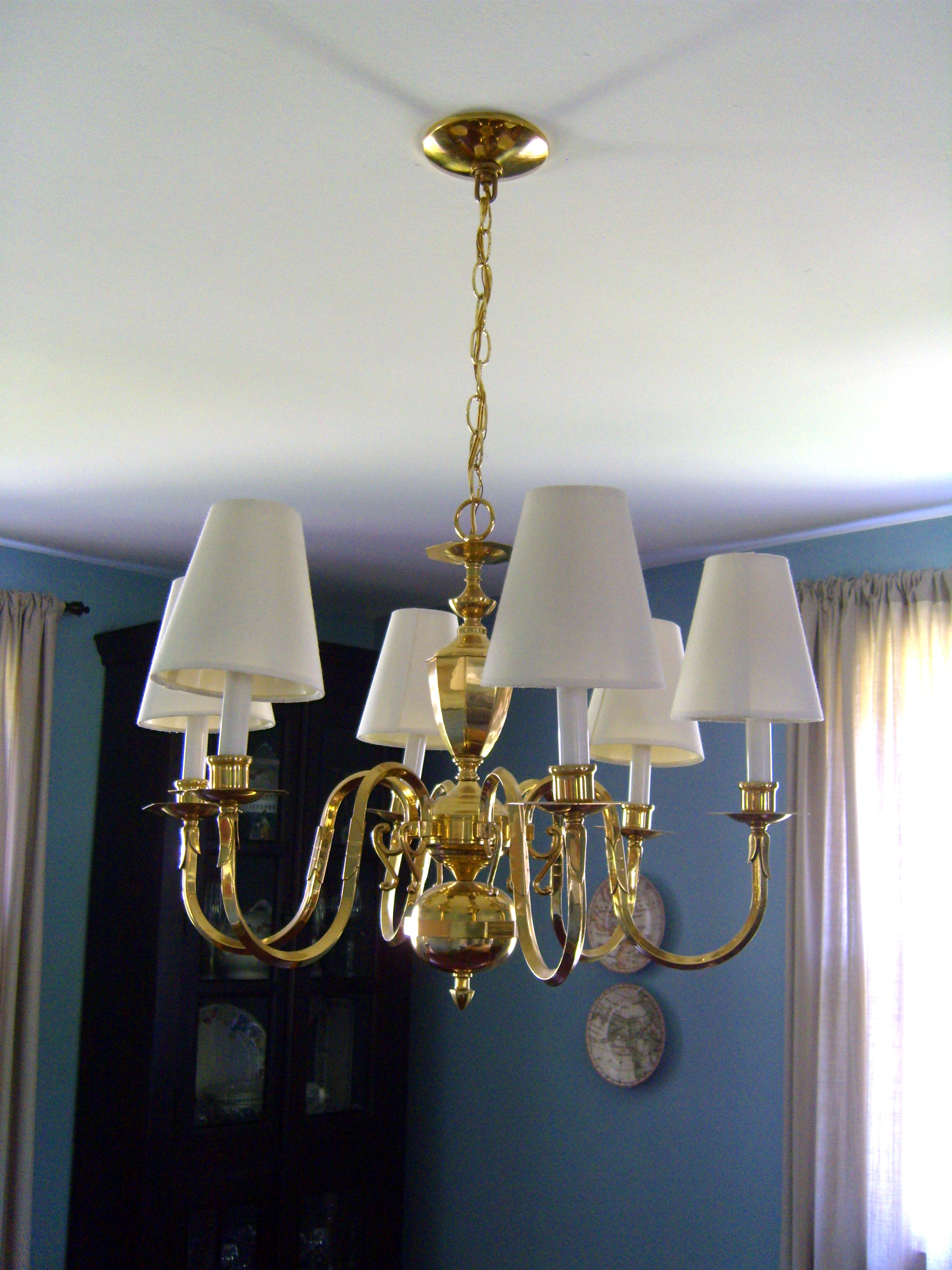 Chandelier Shades Black Mini Lamp Shadeschandelier In And White Intended For Black Chandeliers With Shades (Image 13 of 25)