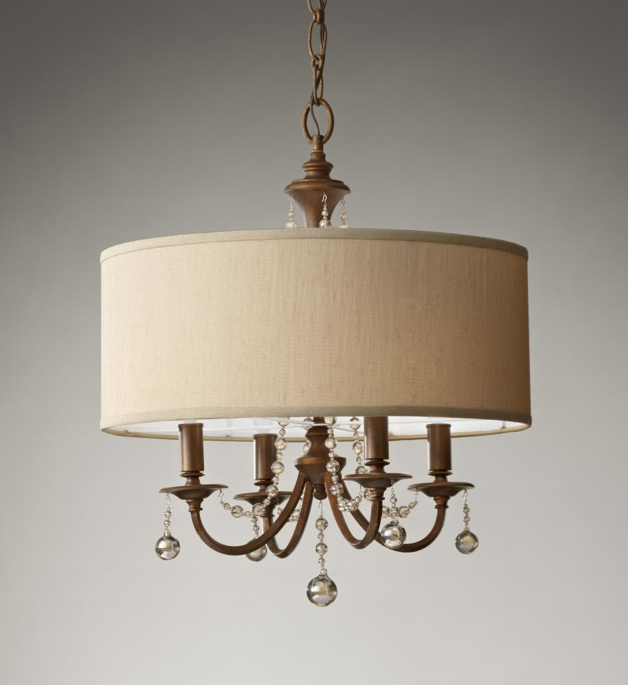 Featured Image of Clip On Drum Chandelier Shades