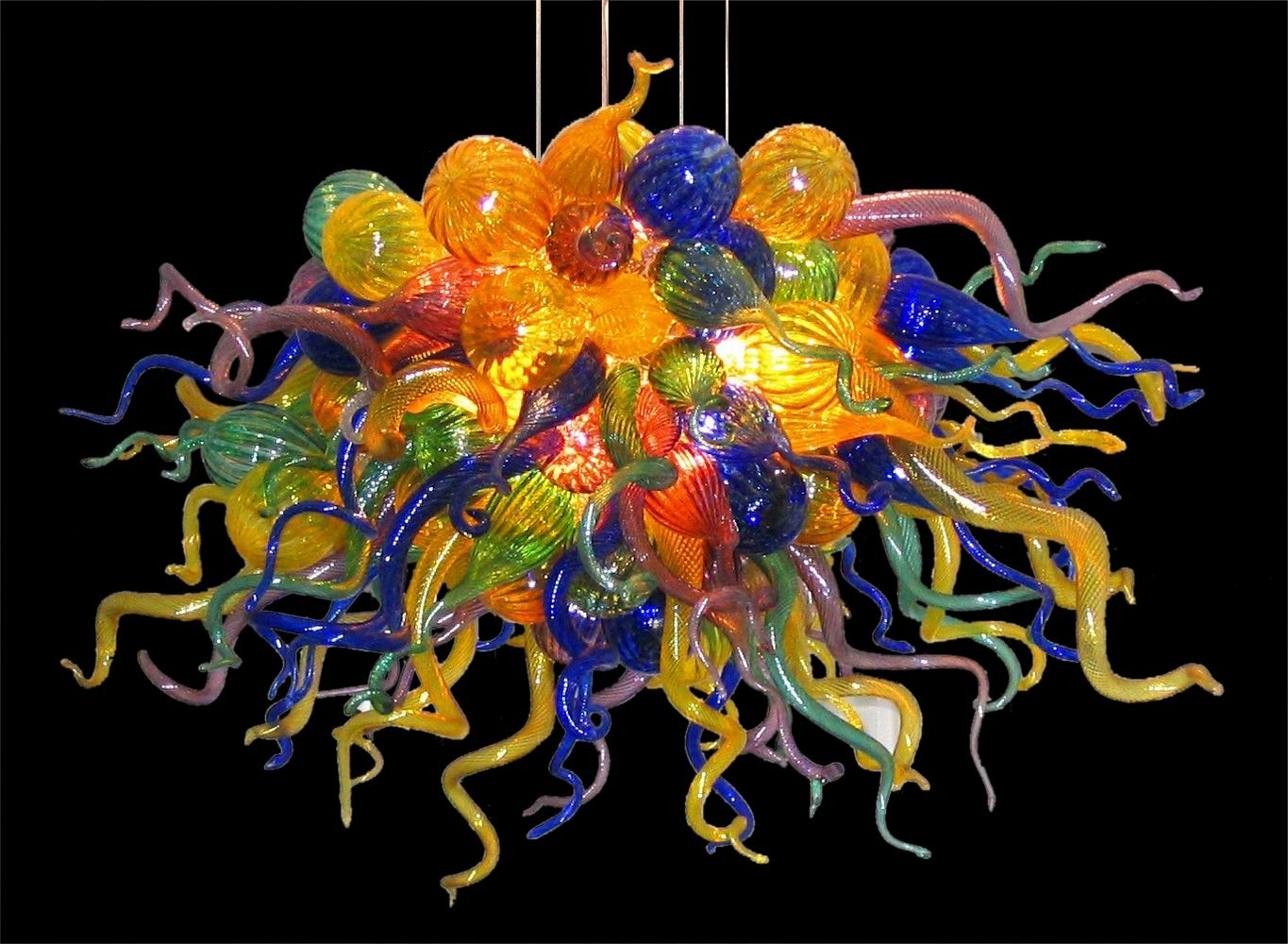 Chandelier Stunning Colored Chandelier Fascinating Colored Within Multi Colored Gypsy Chandeliers (Image 12 of 25)