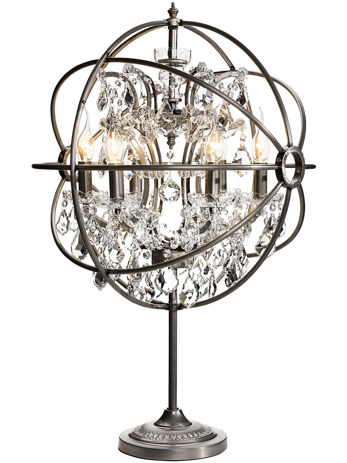Chandelier Table Lamps Pertaining To Small Chandelier Table Lamps (View 4 of 25)
