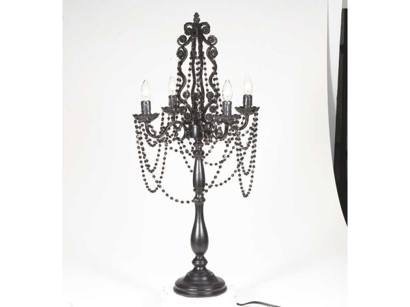 Featured Image of Faux Crystal Chandelier Table Lamps