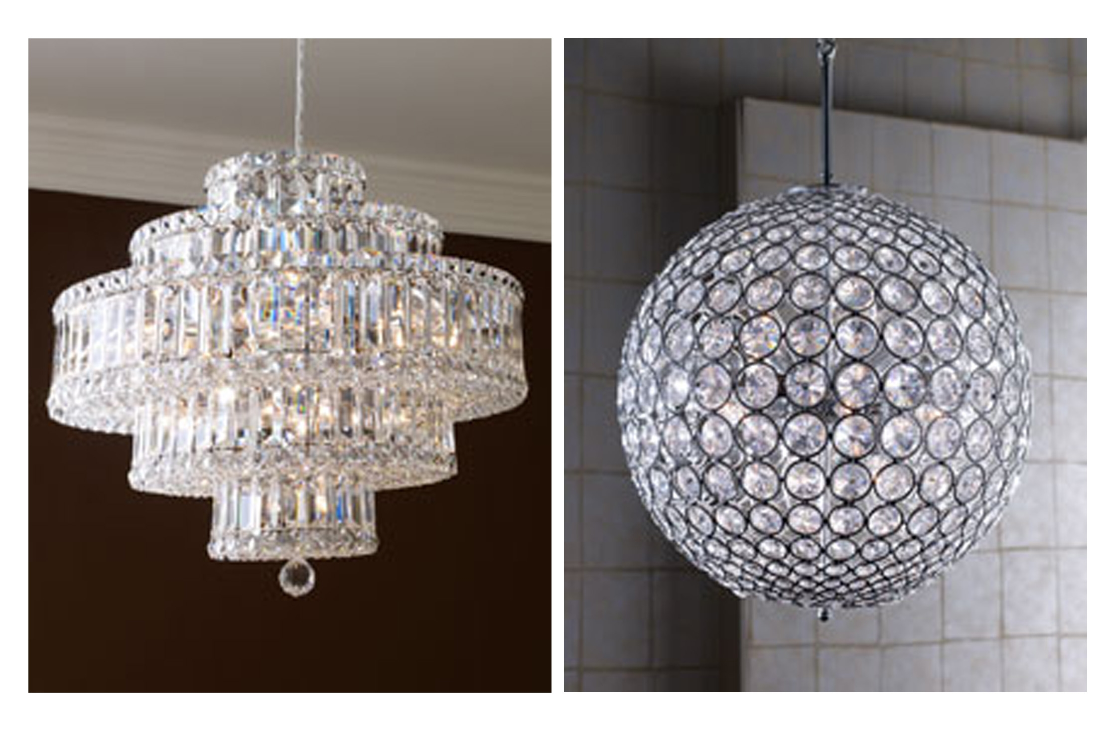 Featured Image of Sparkly Chandeliers