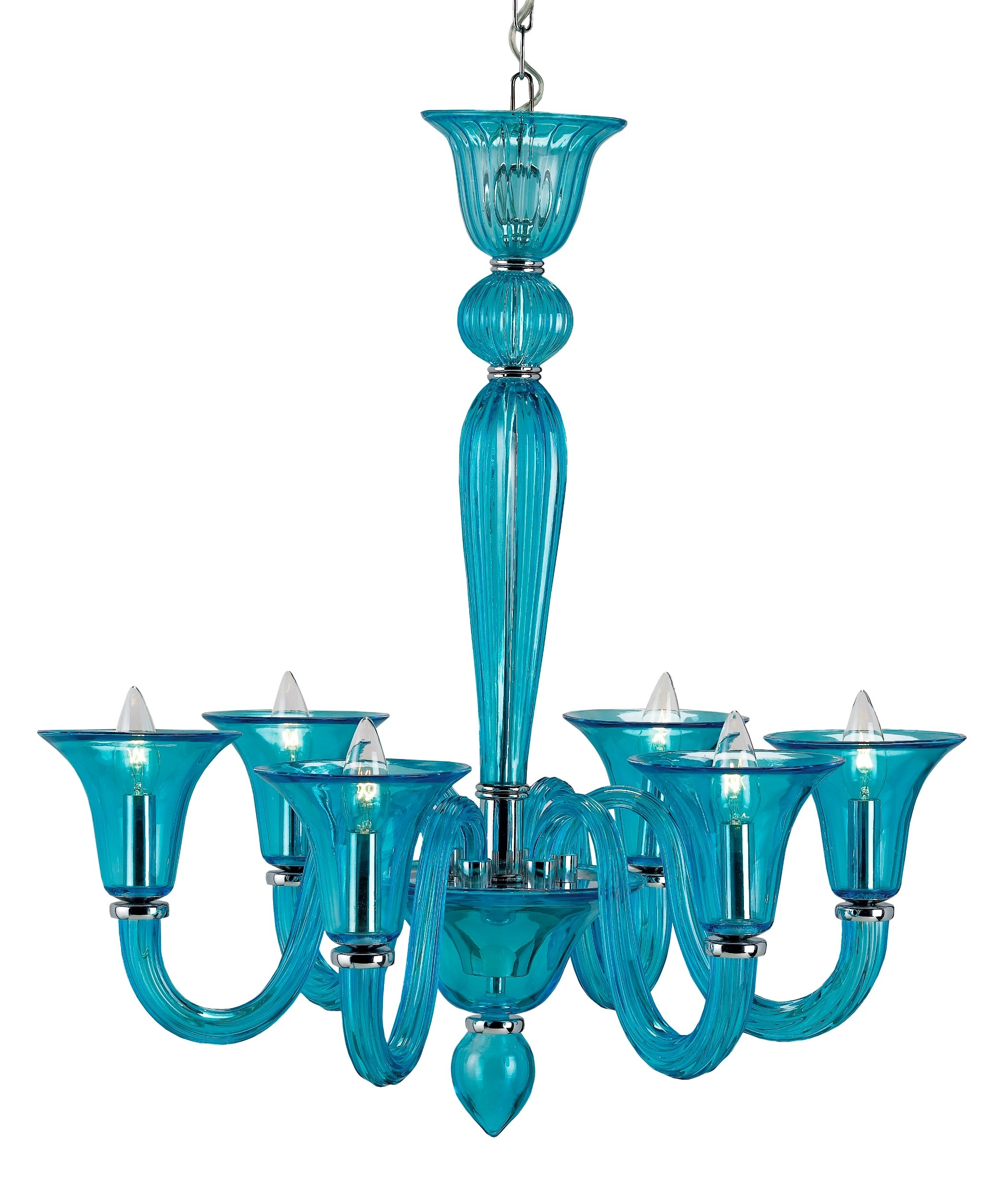 Chandeliers Angersteins Lighting Design Center Pertaining To Turquoise Blue Glass Chandeliers (Image 8 of 25)