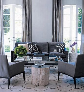 Charcoal Gray Sofa Design Ideas Intended For Blue Gray Sofas (Image 13 of 20)
