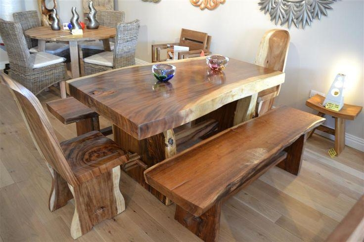 Charming Chunky Solid Oak Dining Table And 6 Chairs 52 For Dining Intended For Chunky Solid Oak Dining Tables And 6 Chairs (View 9 of 20)