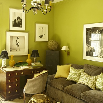 Chartreuse Sofa Design Ideas Regarding Chartreuse Sofas (Photo 16 of 20)