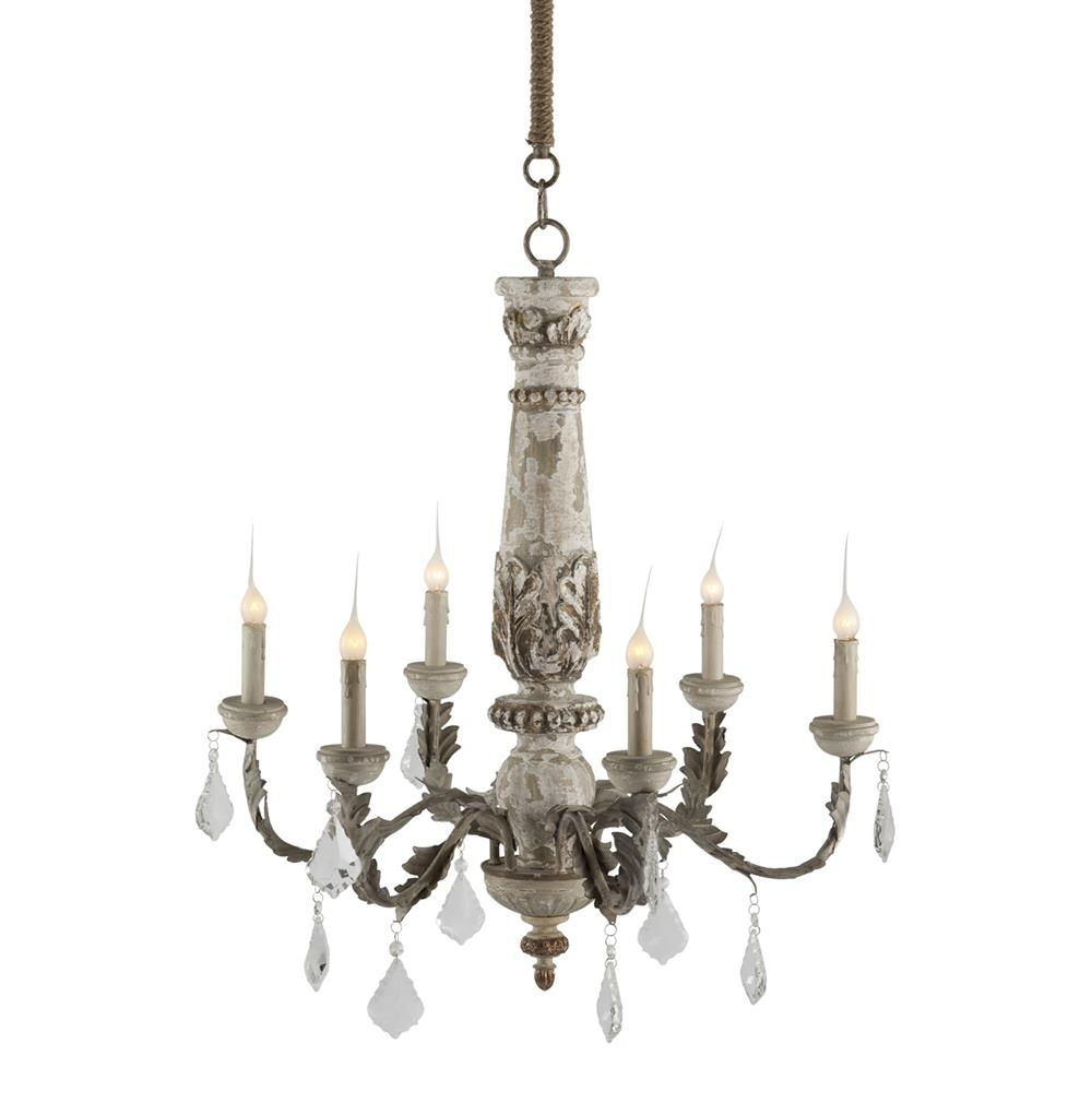 Chateau Bealieu Leaf French Country Chandelier Kathy Kuo Home Inside French Country Chandeliers (View 12 of 25)