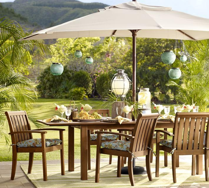 Chatham Rectangular Extending Dining Table & Chair Set – Honey With Regard To Extending Outdoor Dining Tables (Image 10 of 20)