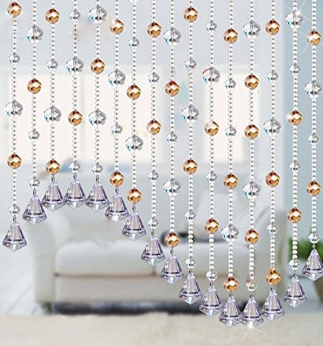 Cheap Crystal Bead Strands Chandelier Find Crystal Bead Strands Regarding Faux Crystal Chandelier Wedding Bead Strands (Image 16 of 25)