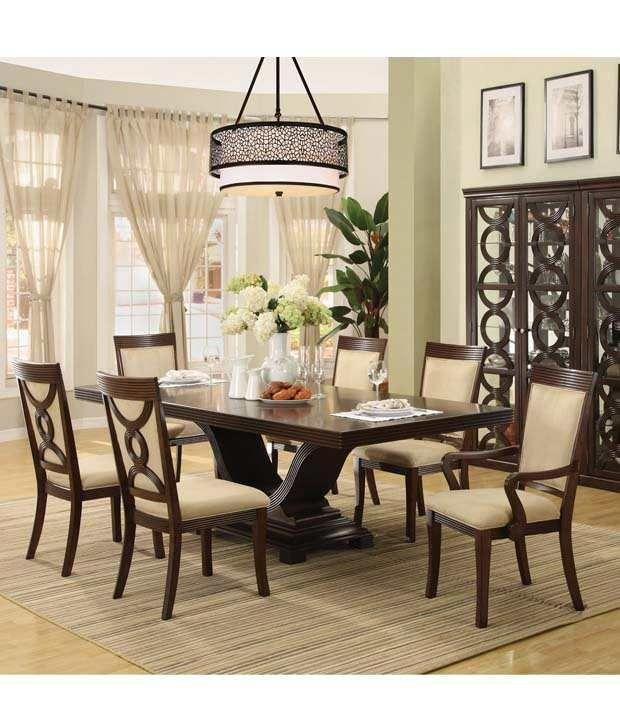 Cheap Dining: 20 Inspirations Cheap 6 Seater Dining Tables And Chairs