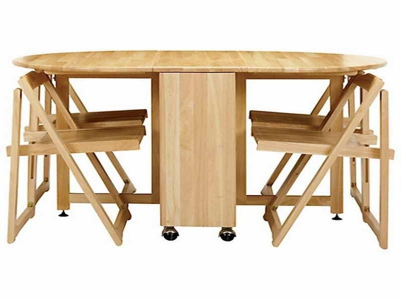 Cheap Folding Dining Table And Chairs | Home Design Ideas Regarding Cheap Folding Dining Tables (Image 5 of 20)