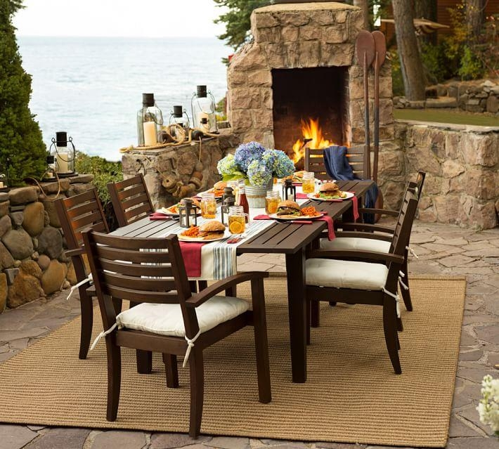 Chesapeake Rectangular Extending Dining Table | Pottery Barn Within Extending Outdoor Dining Tables (Image 12 of 20)